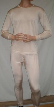 Silk thermal underwear 100% silk