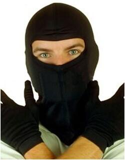 100% Silk Full Face Mask-Balaclava