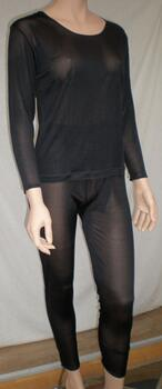 Silk thermal underwear, 100% silk