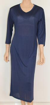 Silk jersey nightgown, 100% silk