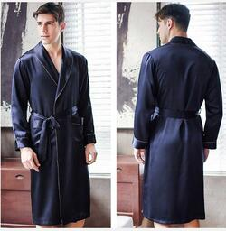 Silk Robe 100% Silk 19momme silk