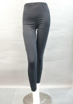 Silk leggings 95% silk, black