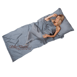 Silk Sleeping Bag Liner 100% Silk Ivory