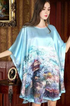 Silk Nightgown 100% Silk