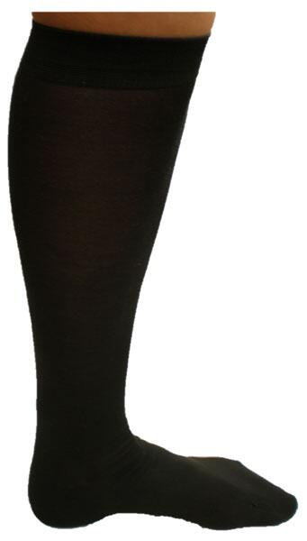 Silk knee socks