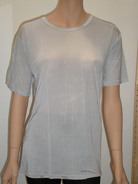 Silk tshirt, women 100% silk