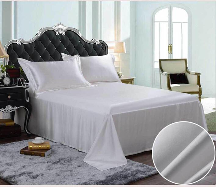 Silk bedding White 100% silk 19momme