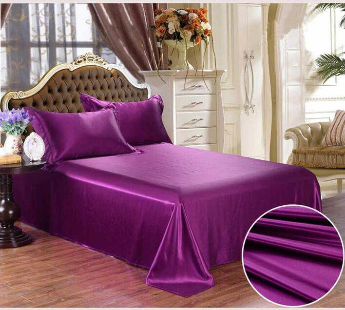 Silk bedding Purple 100% silk 19momme