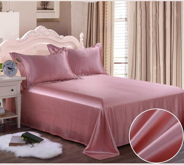 Silk bedding Ruble pink 100% silk 19momme
