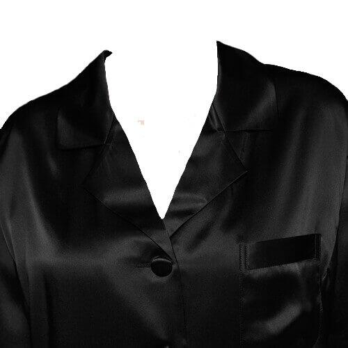 Silk pajamas Black, 100% silk
