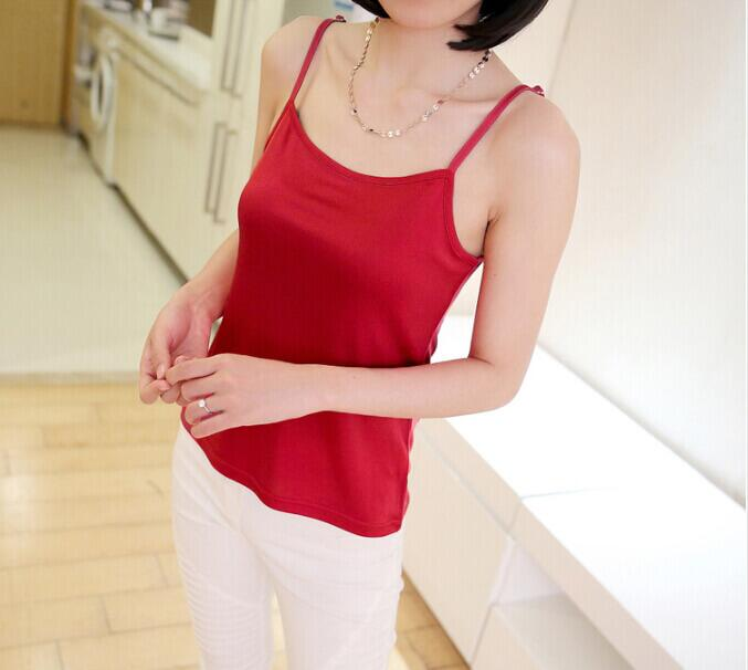 Silk Camisole Red, 100% silk