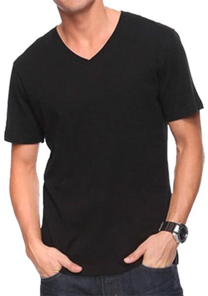 Silk t-shirt V Neck 100% silk
