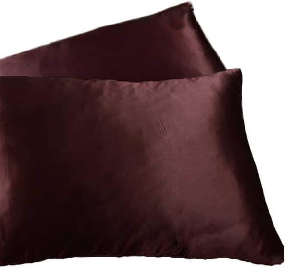 Silk pillowcase 100% silk, 19momme Dark Coffee