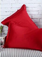 Silk pillowcase 100% silk, 19momme red