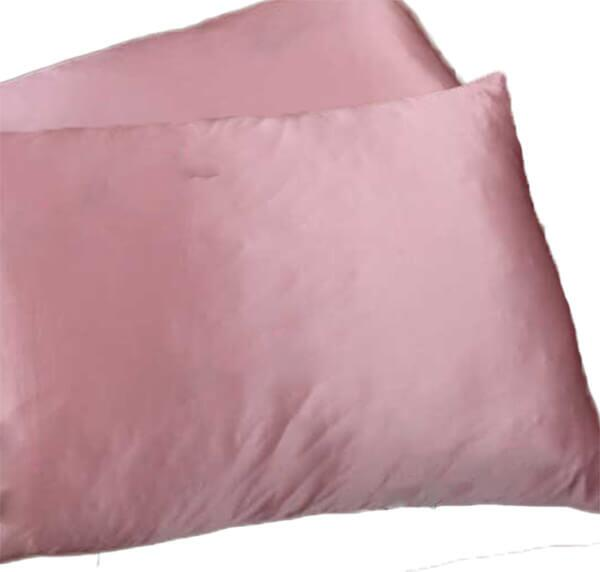 Silk pillowcase 100% silk, 19momme rubble pink