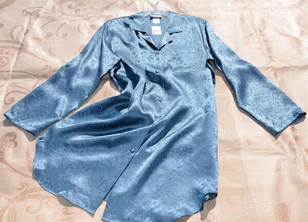 Silk nightshirt 19momme, 100% silk