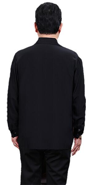 Silk Shirt 100% silk, Black
