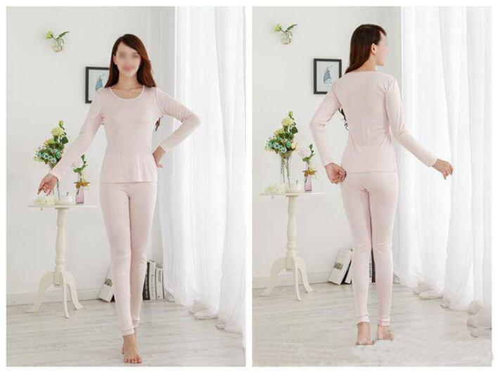 Silk thermal underwear 160gsm, 100% silk