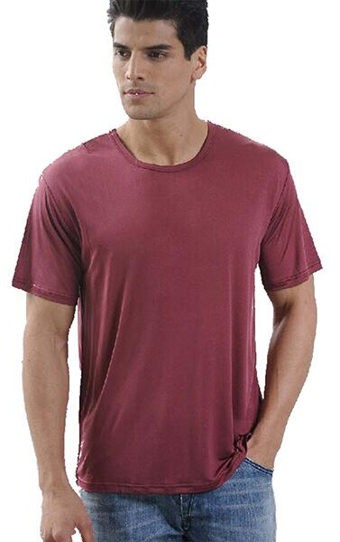Silk tshirt men 100% silk