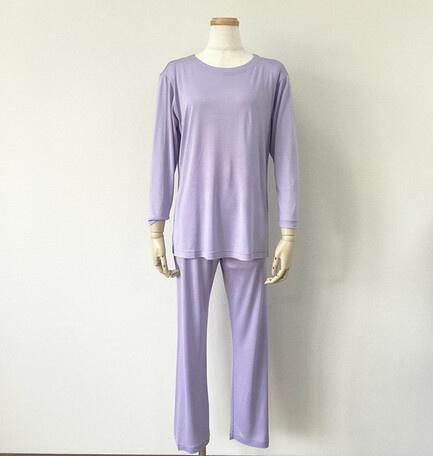 Silk pajamas jersey, 100% silk