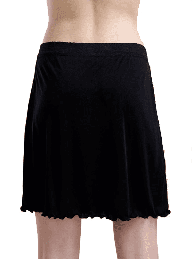 Silk Skirt 100% Silk, Black