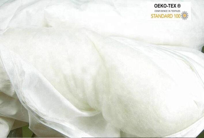 100% silk fill eco-tex 100 certified