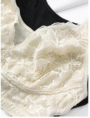 Silk Lace bra Top, 100% silk