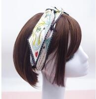 Silk Hair Band Long